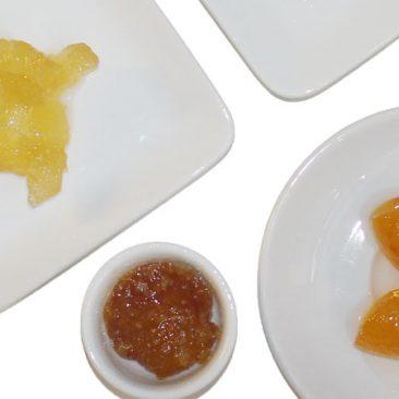Früchte in Sirup, Honig & Marmelade