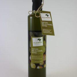 Villa Maria – Natives Bio-Olivenöl Extra: 0,50 Liter-Flasche