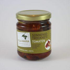 Villa Maria – Sonnengetrocknete Tomaten in Nativem Olivenöl Extra: 80 Gramm-Glas