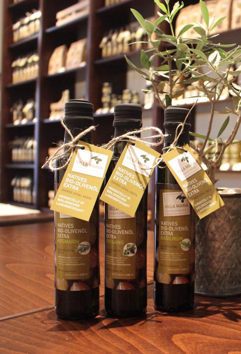 Villa Maria – Natives Bio-Olivenöl Extra mit Kräutern: Noch diese Woche minus 25%!