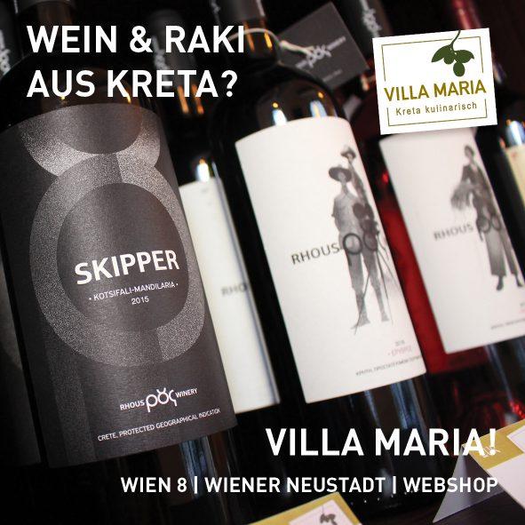 Wein & Raki aus Kreta?