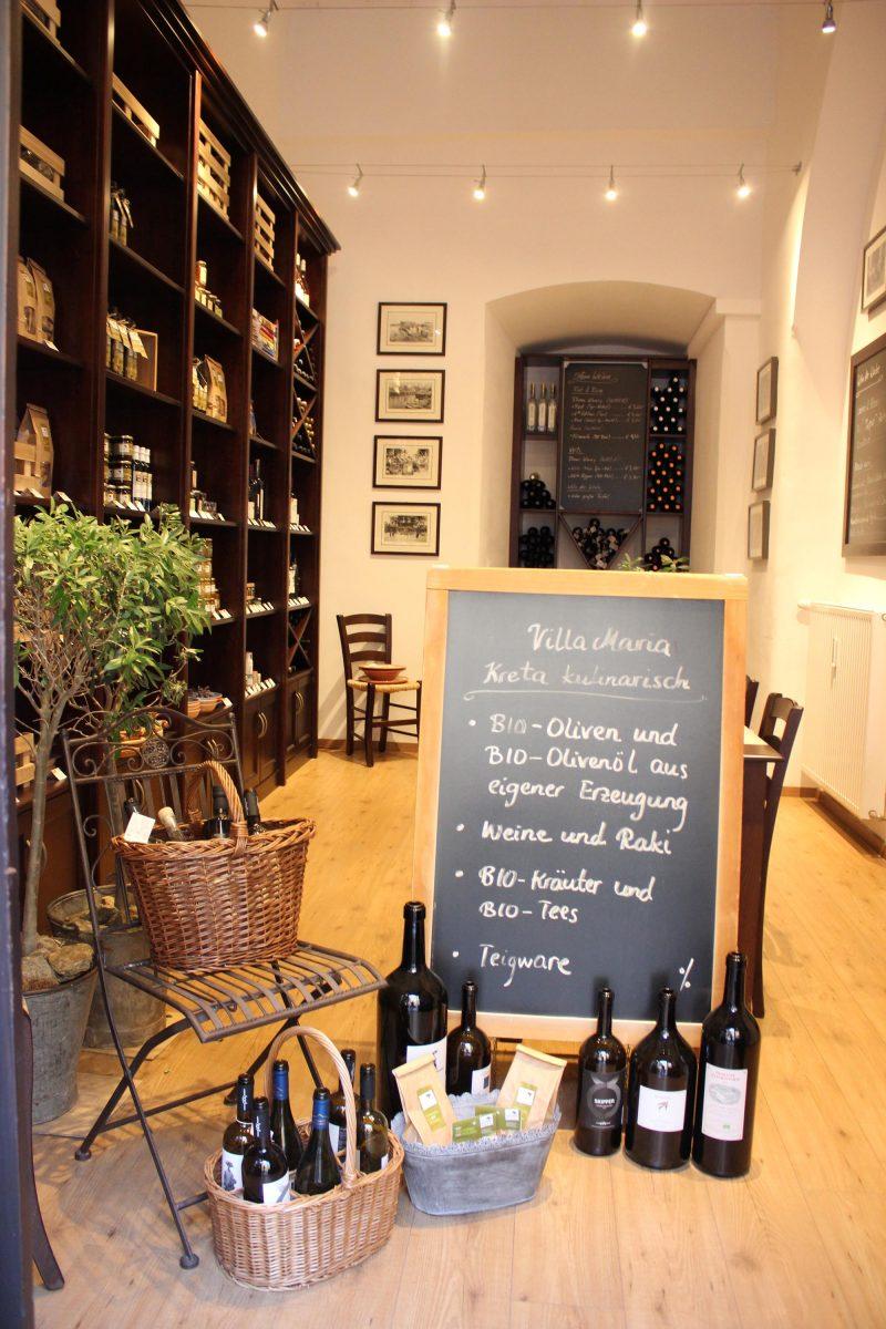 Einkaufen und Köstliches genießen bei Villa Maria…