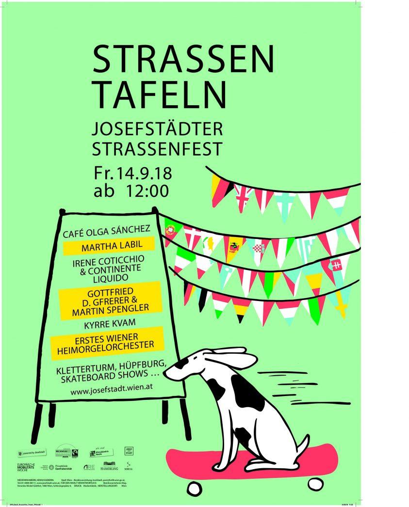 Josefstädter Straßenfest 2018