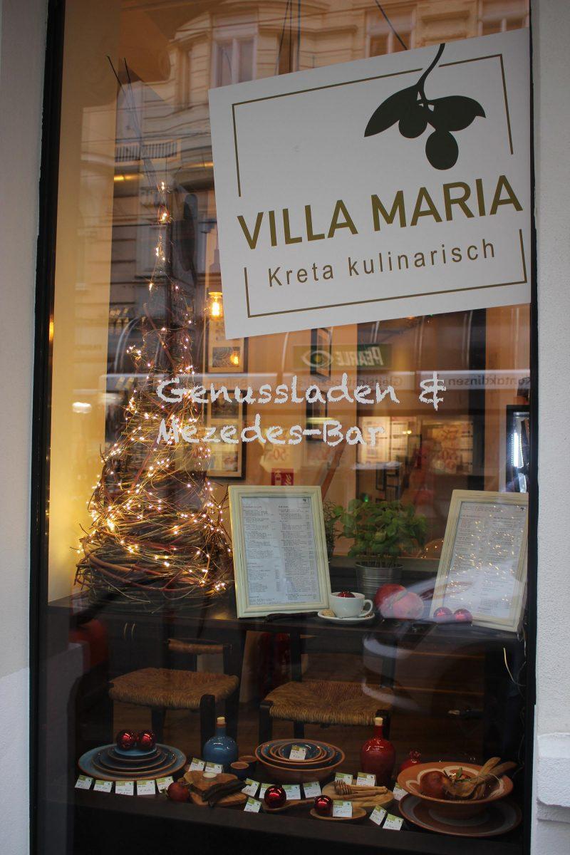 Villa Maria | Kreta kulinarisch in Wien 8 feiert den 1. Geburtstag! Feiern Sie mit uns mit…