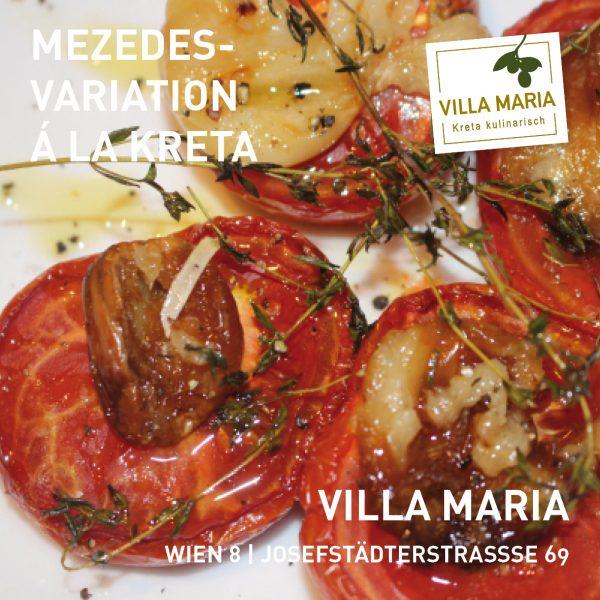 Mezedes-Variation bei Villa Maria | Kreta kulinarisch in Wien 8
