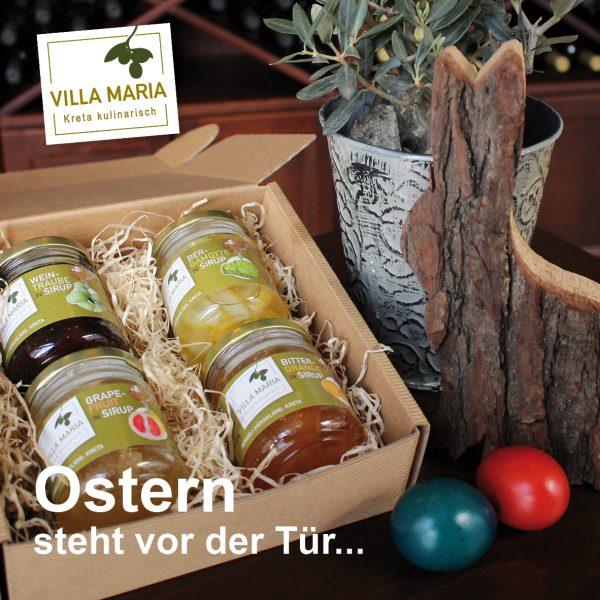 Ostern steht vor der Tür – Genuss und Freude schenken mit Villa Maria