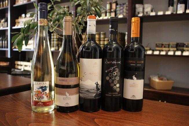 Samstag, 6. April: Weinverkostung bei Villa Maria in Wien 8: Douloufakis Winery, Kreta