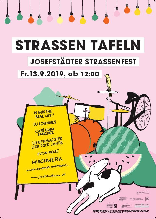 """Villa Maria und das """"Straßenfest Josefstadt"""" am 13. September 2019"""