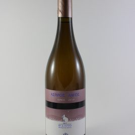 Douloufakis Winery – Aspros Lagos Vidiano: 0,75 Liter-Flasche