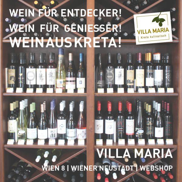 Wein für Entdecker! Wein für Genießer! Wein aus Kreta!