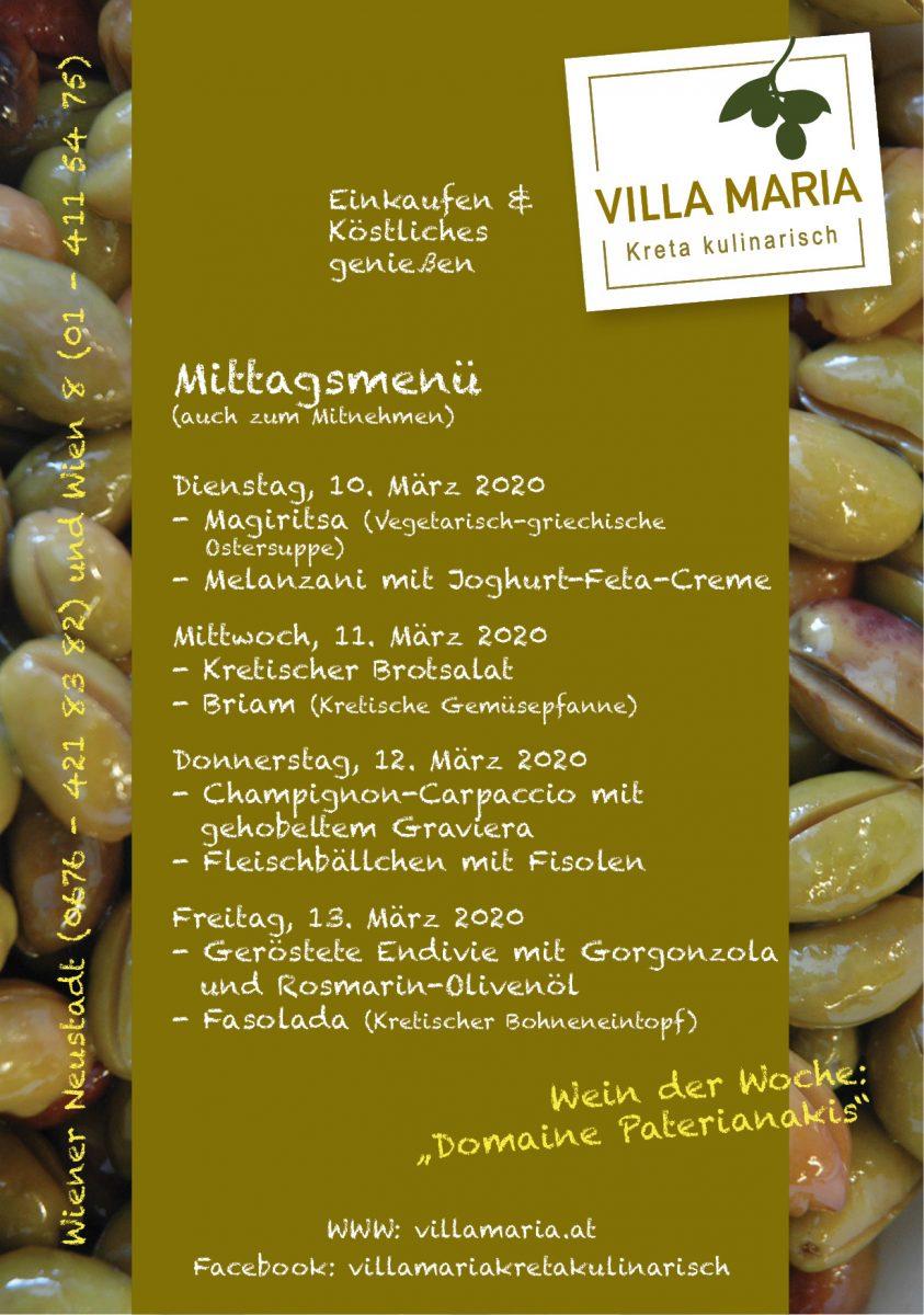 Am Mittagstisch von Villa Maria | Kreta kulinarisch…
