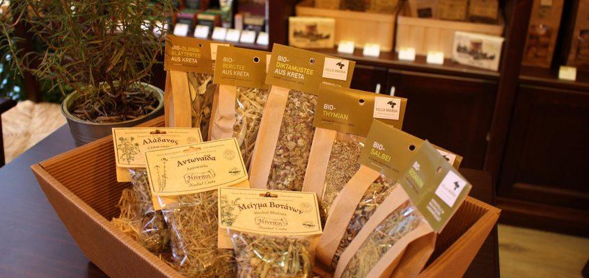 Die Heilkraft Kretas: Naturbelassene wie Bio-Tees und -Kräuter von der Insel der Götter…