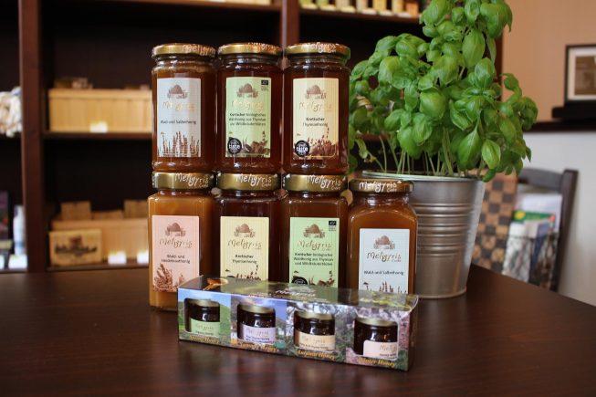 Hochwertige Honig-Spezialitäten aus Kreta von Meligyris.