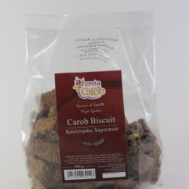 CretaCarob – Carob-Biscuit: 300 Gramm-Packung