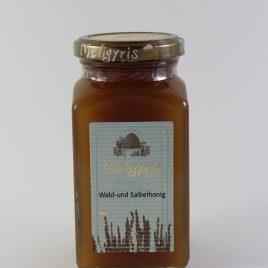 Meligyris – Kretischer Wald- und Salbeihonig: 450 Gramm-Glas