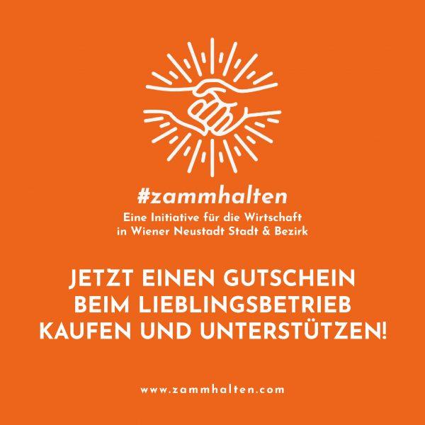 #zammhalten: JETZT GUTSCHEIN KAUFEN – SPÄTER EINLÖSEN