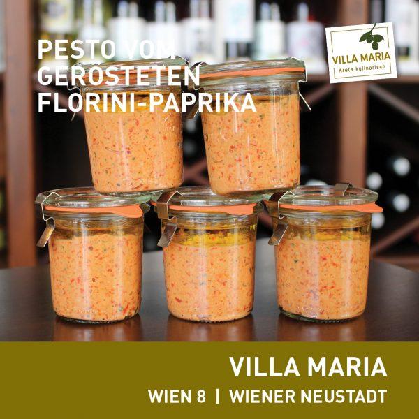NEU: Villa Maria   Pesto vom gerösteten Florini-Paprika (G, H   v)…