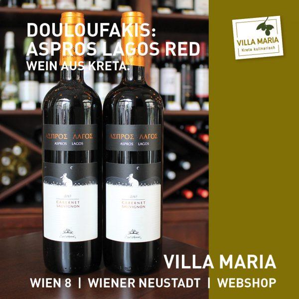 Villa Maria – Wein der Woche: Douloufakis Winery: Aspros Lagos Red