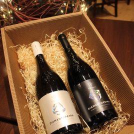 """Geschenkbox """"Diamantakis Winery – Diamantopetra Red & White"""""""