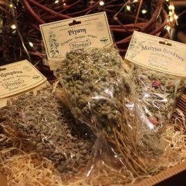 "Geschenkbox ""Nivritos – Bergkräuter & Tees"""