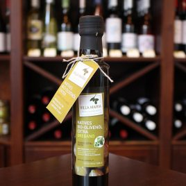 Villa Maria – Natives Bio-Olivenöl Extra mit Oregano: 0,25 Liter-Flasche
