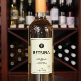 Family Winery Vorizanaki – Retsina (Vilana-Athiri): 0,75 Liter-Flasche
