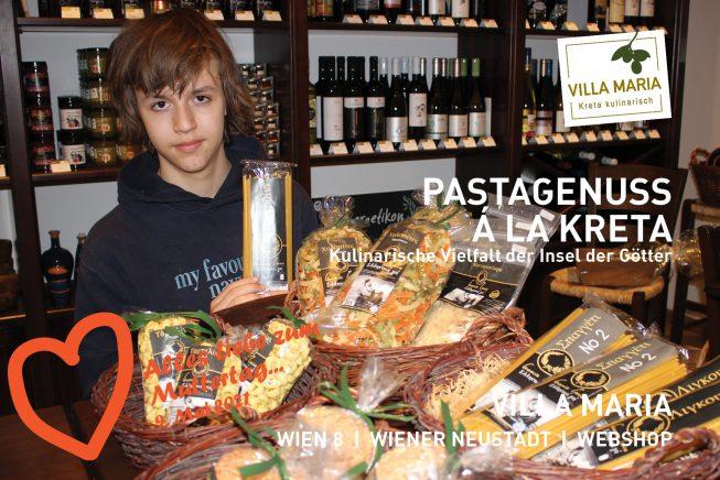 9. Mai 2021: Alles Liebe zum Muttertag…  Pastagenuss á la Kreta – Kulinarische Vielfalt der Insel der Götter