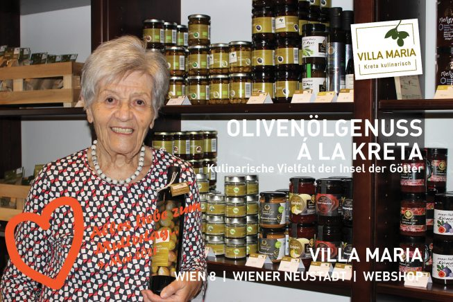 9. Mai 2021: Alles Liebe zum Muttertag…  Olivenölgenuss á la Kreta – Kulinarische Vielfalt der Insel der Götter