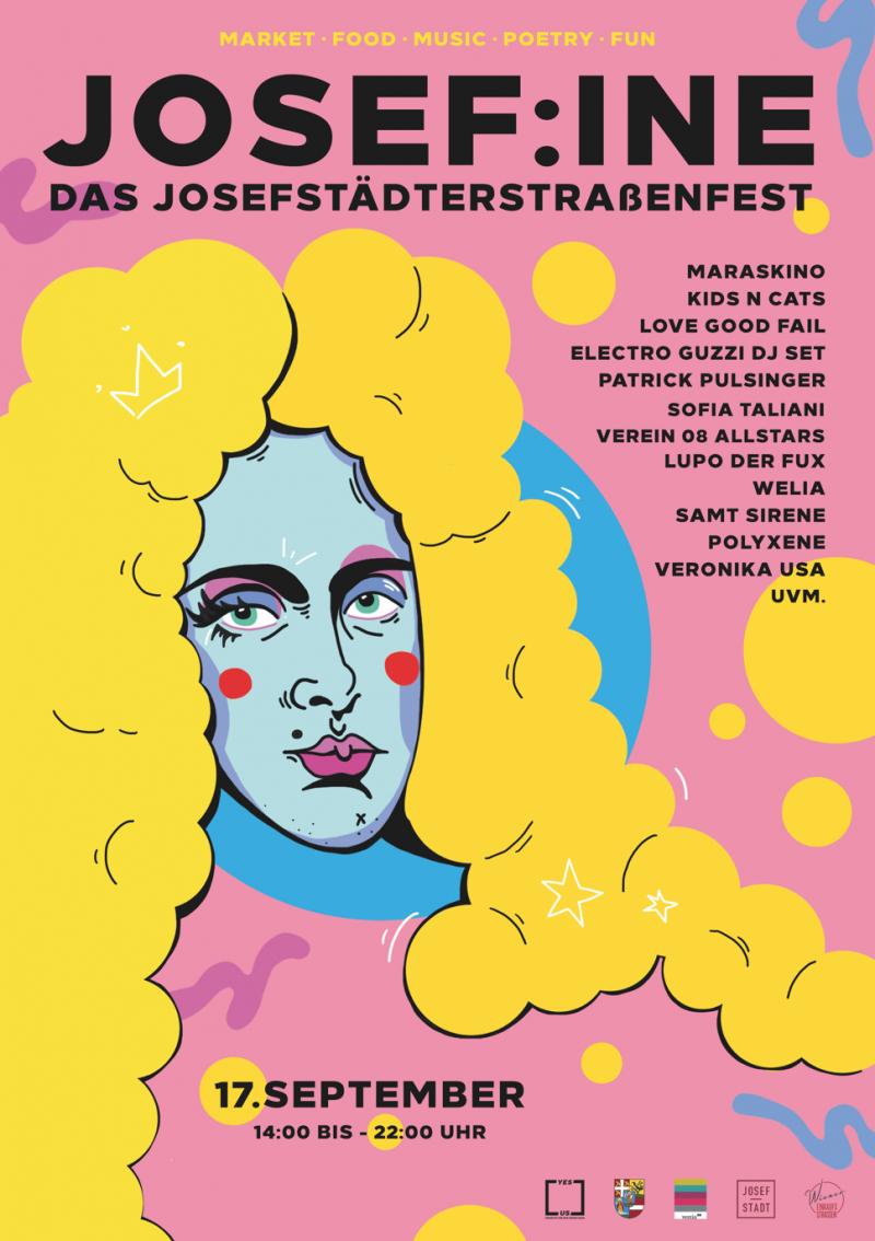 JOSEF:INE – Das Josefstädterstraßenfest 2021